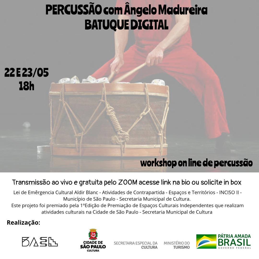 PERCUSSÃO – BATUQUE DIGITAL