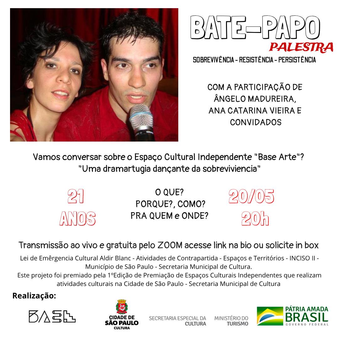 Bate-Papo-Palestra sobre a BaSe ARTE